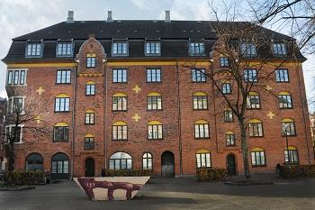 Fronten på Andelsforeningen Kræmmerhuset