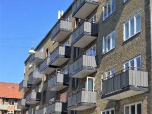 Nye vinduer og altaner